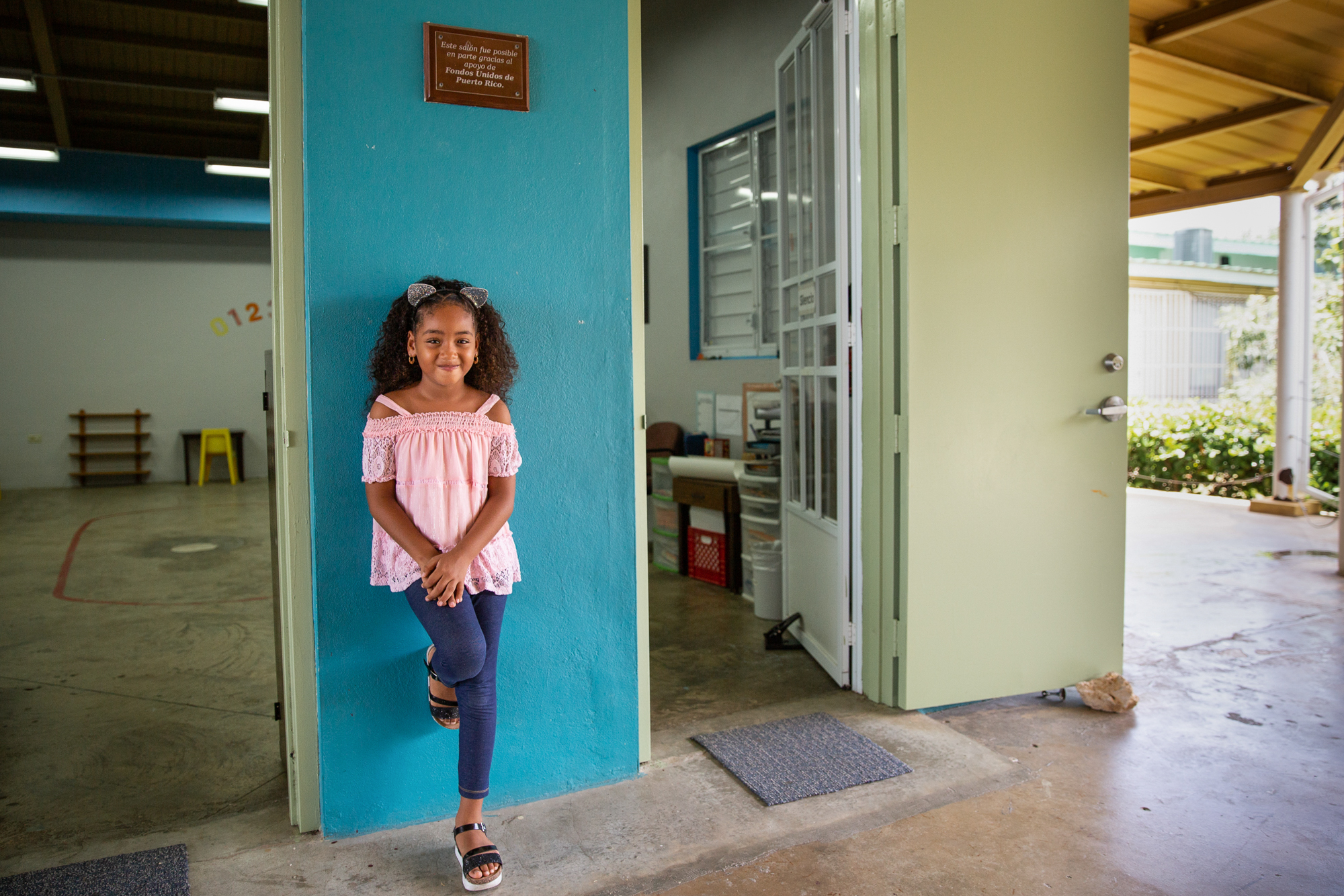 "Jailiany Delgado - Jailiany Correa was 5 when Hurricane Maria slammed into Puerto Rico. She doesn't remember much about the storm, but her grandmother says the girl just wanted to return home. ""She would call me every day and be like, 'I want to go back home, I want to go back home, I want to see you,'"" Deborah Delgado said. (Ellen O'Brien/News21)"