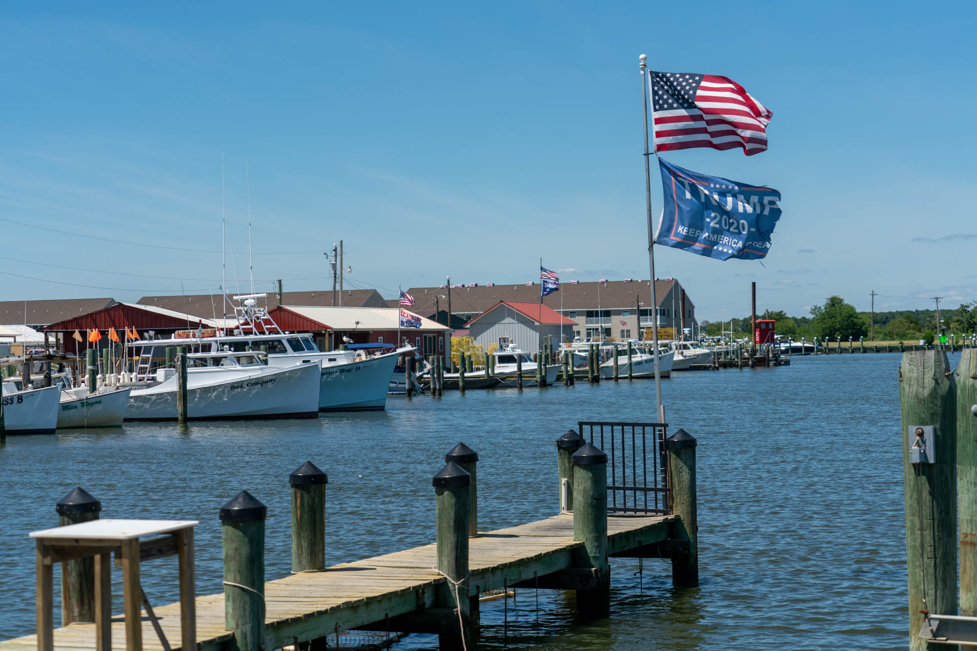 Although scientists say the Eastern Shore of Maryland is highly vulnerable to the effects of rising seas, only about 40% of people living along the Chesapeake Bay believe global warming will harm them personally. (Jordan Laird/News21)